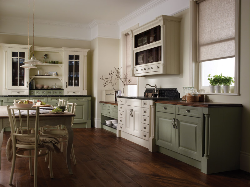 Cornell Painted Classic Kitchen Designs - Ayrshire