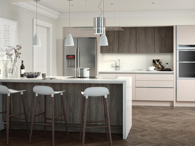 Feature Character Graphite Contemporary Kitchen Designs - Ayrshire